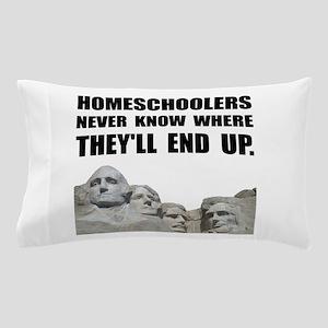 Homeschool Rushmore Pillow Case