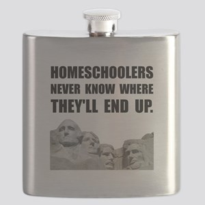 Homeschool Rushmore Flask