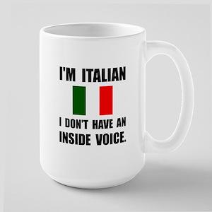 Italian Inside Voice Mugs