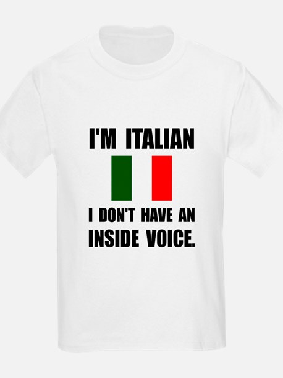 Italian Inside Voice T-Shirt