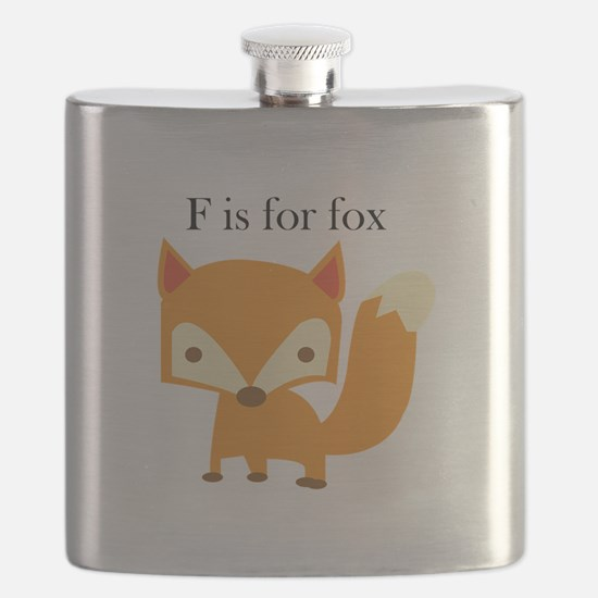 F Is For Fox Flask