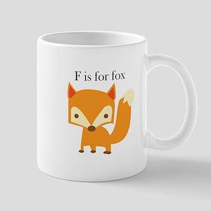 F Is For Fox Mugs