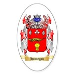 Hannegan Sticker (Oval 10 pk)