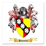Hanneen Square Car Magnet 3
