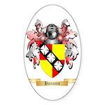 Hanneen Sticker (Oval)