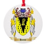 Hanne Round Ornament