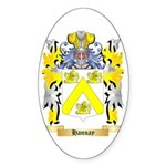 Hannay Sticker (Oval 50 pk)