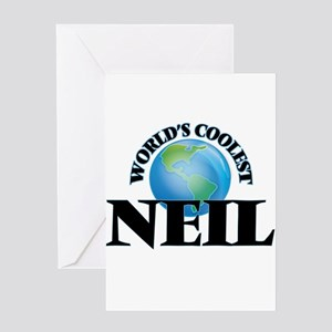 World's Coolest Neil Greeting Cards