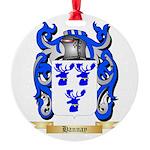 Hannay (Scottish) Round Ornament