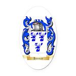 Hannay (Scottish) Oval Car Magnet