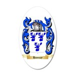 Hannay (Scottish) 20x12 Oval Wall Decal