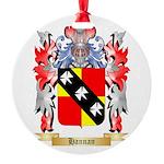 Hannan Round Ornament