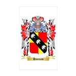 Hannam Sticker (Rectangle 50 pk)