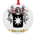 Hannaford Round Ornament
