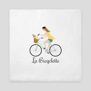 La Bicyclette Queen Duvet