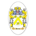 Hanna Sticker (Oval 50 pk)