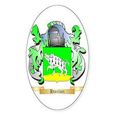 Hanlon Sticker (Oval)