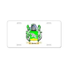 Hanlon Aluminum License Plate