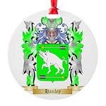Hanley Round Ornament