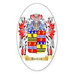 Hankins Sticker (Oval 50 pk)