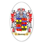 Hanking Sticker (Oval 50 pk)