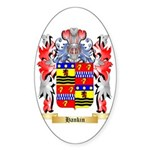Hankin Sticker (Oval 50 pk)
