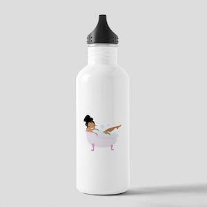 Ladys Bubble Bath Water Bottle