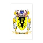 Hanisch Sticker (Rectangle)