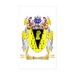 Hanisch Sticker (Rectangle 10 pk)