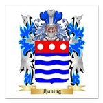 Haning Square Car Magnet 3