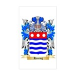 Haning Sticker (Rectangle)