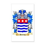 Haning 20x12 Wall Decal