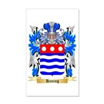 Haning 35x21 Wall Decal