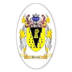 Hanik Sticker (Oval)