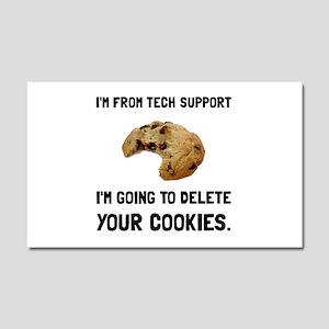 Tech Support Cookies Car Magnet 20 x 12
