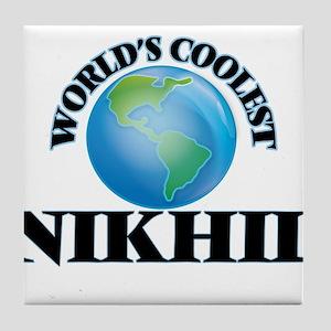 World's Coolest Nikhil Tile Coaster