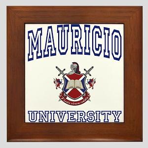 MAURICIO University Framed Tile