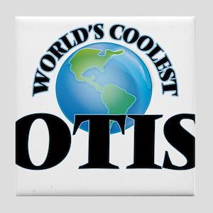 World's Coolest Otis Tile Coaster