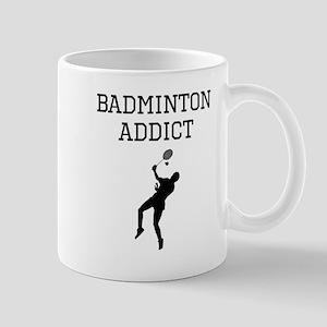 Badminton Addict Mugs