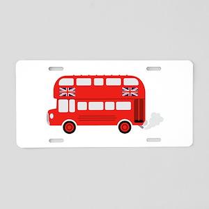 London Bus Aluminum License Plate