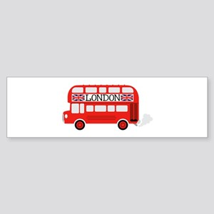 London Double Decker Bumper Sticker