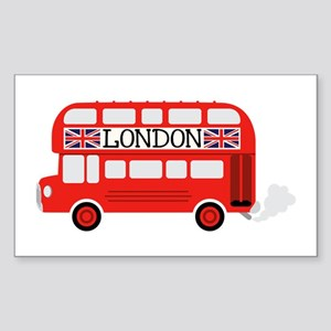 London Double Decker Sticker