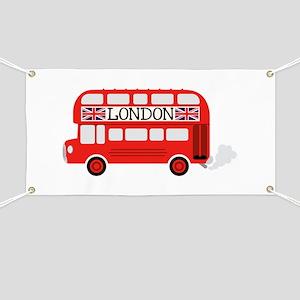London Double Decker Banner