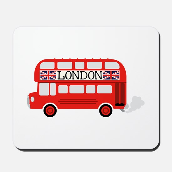 London Double Decker Mousepad