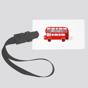 London Double Decker Luggage Tag