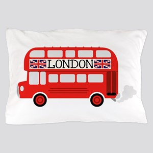 London Double Decker Pillow Case