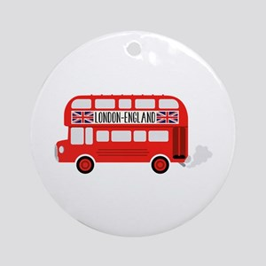 London England Ornament (Round)
