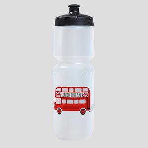 London England Sports Bottle