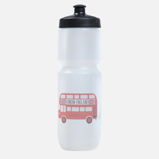 London England Sports Bottle