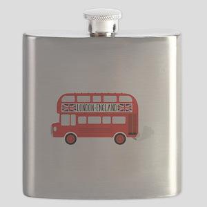 London England Flask